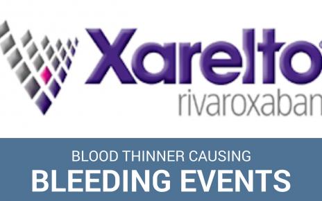 side effects xarelto blood thinner fda warnings