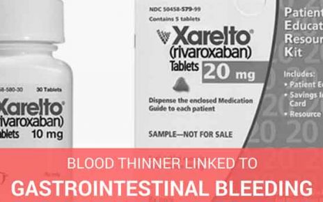 xarelto blood thinner linked to gastrointestinal bleeding