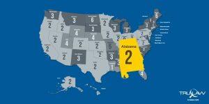 Alabama statute of limitations map