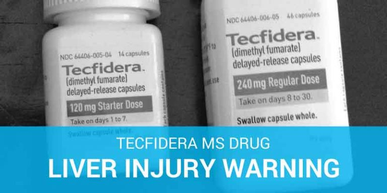 tecfidera liver injury warning