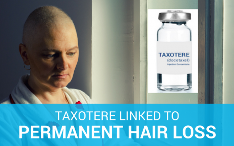 Taxotere linked to permanent hair loss