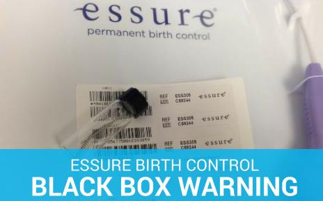 Essure birth control black box warning