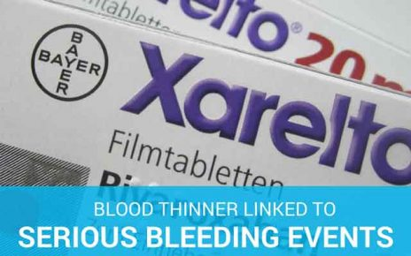 box of Xarelto blood thinner in the Xarelto law suit