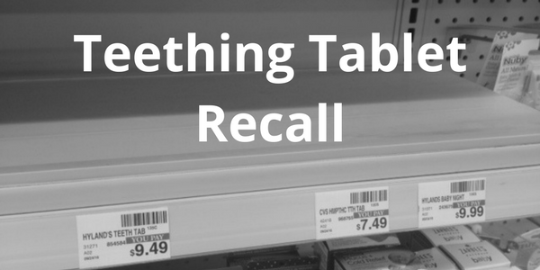 Empty shelf teething tablets were taken off after the hylands teething tablet lawsuit 2017 started