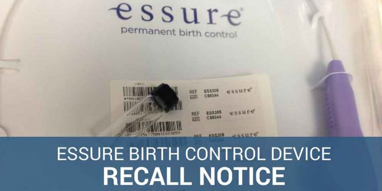 Essure Birth Control Device Recall in Canada Now Looking at Essure Class Action