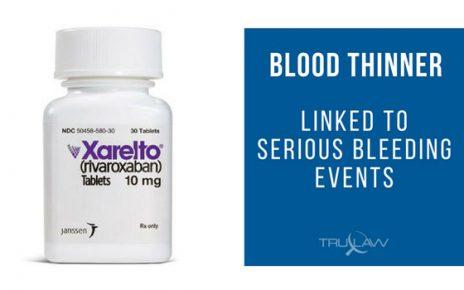 xarelto bleeding trials