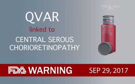 QVAR linked to Central Serous Chorioretinopathy