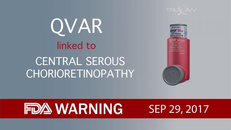 QVAR linked to Central Serous Chorioretinopathy