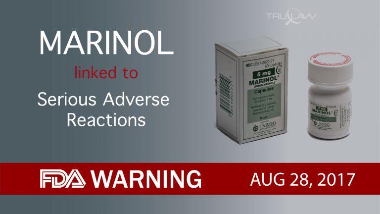 FDA Warning Marinol LInked to Serious Adverse Reactions