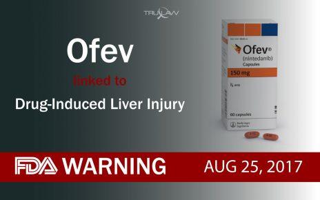 FDA Warning Ofev linked to Drug-induced Liver Injury