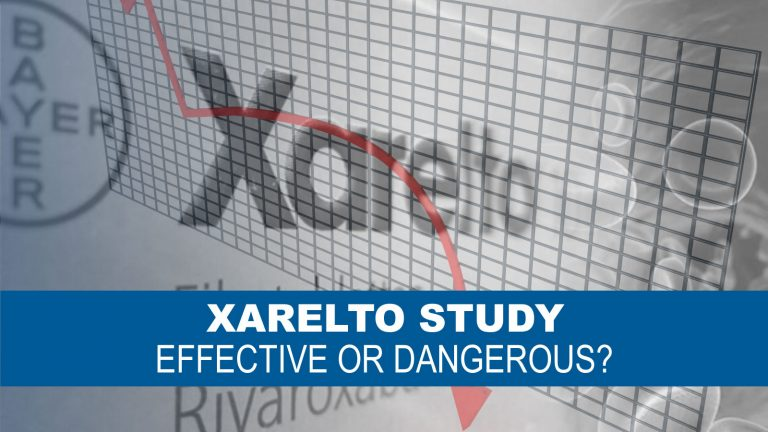 Chart reflecting Profits for Bayer after Study questions effectiveness of Xarelto