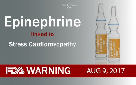 FDA Warning Epinephrine can lead to Stress Cardiomyopathy