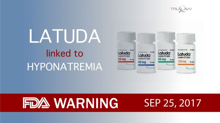 FDA Warning Latuda is linked to Hyponatremia