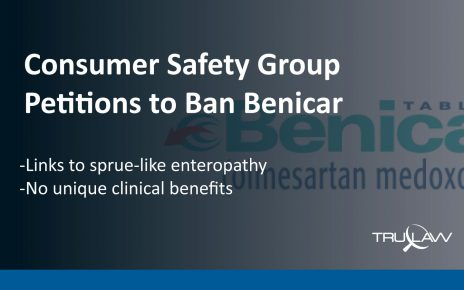 Safety group petitions to Ban Benicar