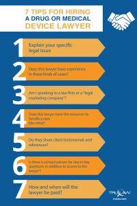 7-tips-hiring-drug-medical-device-lawyer